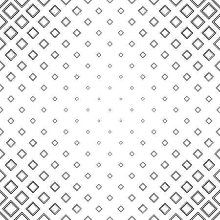 Résumé noir et blanc carré motif de fond Vecteurs