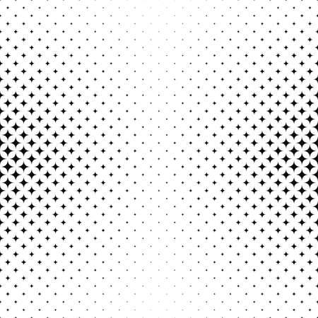 star pattern: Black and white curved star pattern background