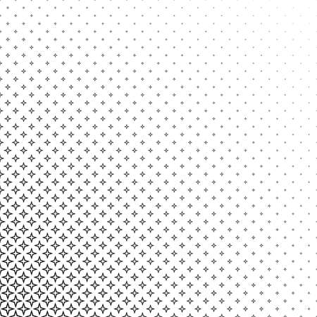 varying: Abstract black and white corner thorn pattern design background