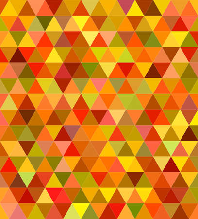 Abstract colorful regular triangle mosaic background design