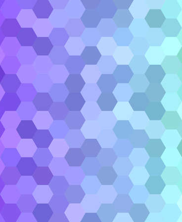 transitional: Abstract hexagonal tile mosaic pattern background design