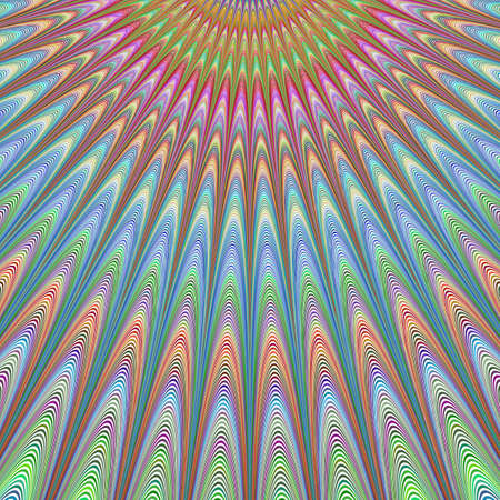 heavenly: Heavenly sky - colorful abstract vector fractal art background design