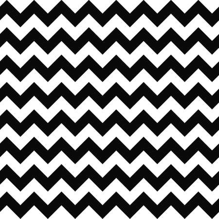 chevron pattern: Black and white seamless chevron pattern background Illustration