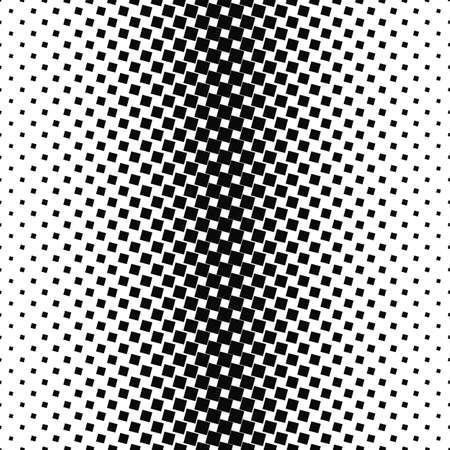 Résumé noir et blanc angulaire motif carré conception de fond