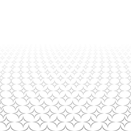 3d star: Monochrome seamless 3d star pattern design background Illustration