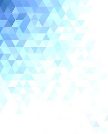Abstract triangle mosaic background design - illustration 矢量图像