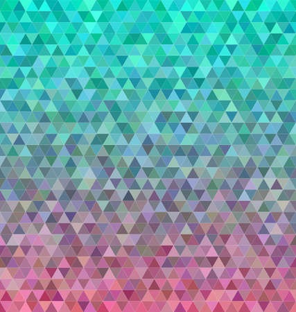 Abstract regular triangle mosaic tile background design