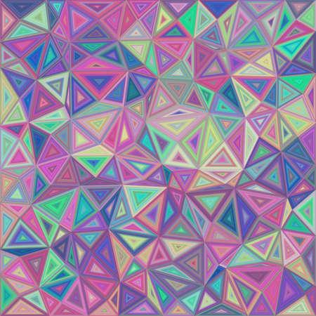 splinter: Retro irregular triangle mosaic background design Illustration