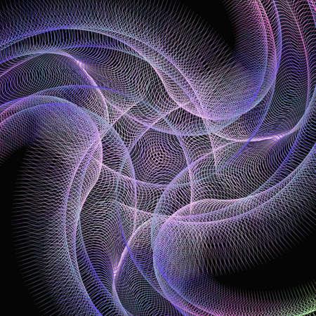 computer art: Purple computer generated digital art background - vector design