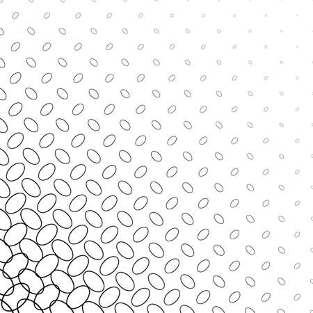 ellipse: Black and white diagonal ellipse pattern background