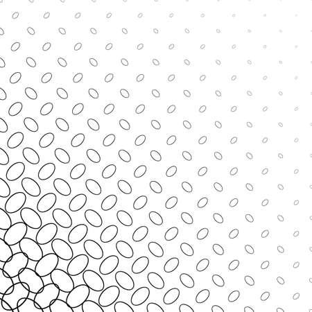 elipse: Black and white diagonal ellipse pattern background