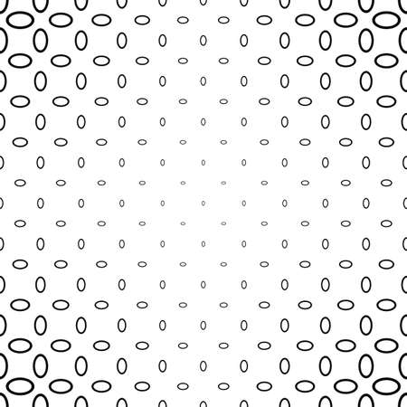 ellipse: Black and white abstract ellipse ring pattern background