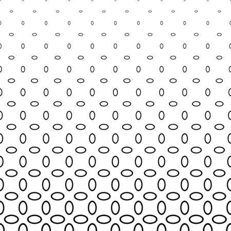 elipse: elipse abstracto blanco y negro patrón de timbre de fondo Vectores