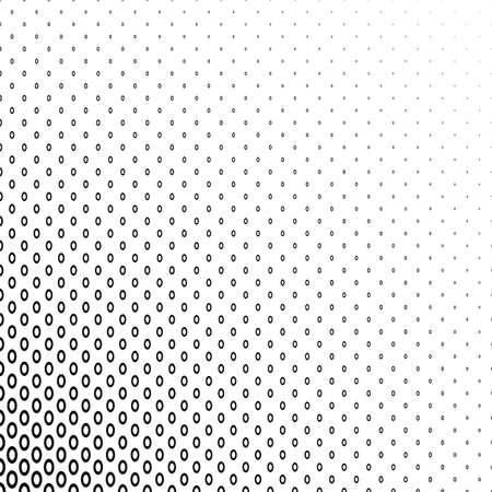 elipse: Extracto blanco y negro anillo de la elipse geométrica del diseño del modelo del fondo Vectores