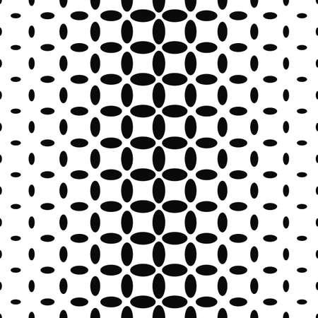 elipse: Resumen de fondo de elipse blanco y negro Vectores