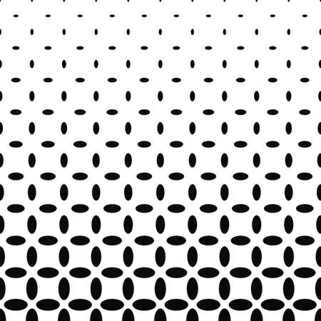 ellipse: Abstract black and white ellipse pattern background
