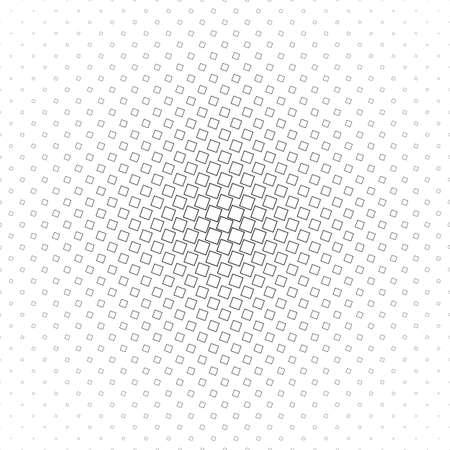 angular: Abstract monochrome geometric angular square pattern design Illustration