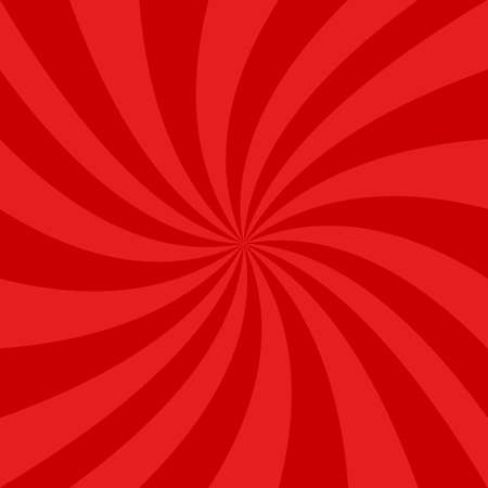 Red spiral design background - vector graphics
