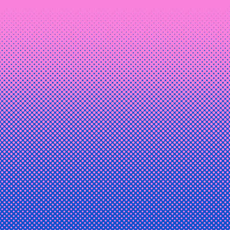 Abstract halftone dot pattern background Illustration