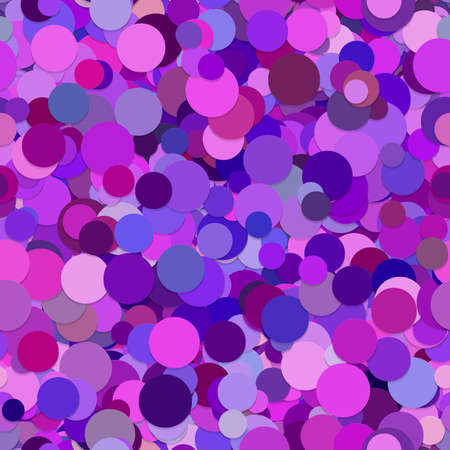 polkadot: Abstract purple random dot pattern background Illustration