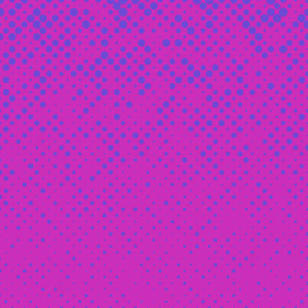 varying: Abstract halftone pattern background from circles Illustration