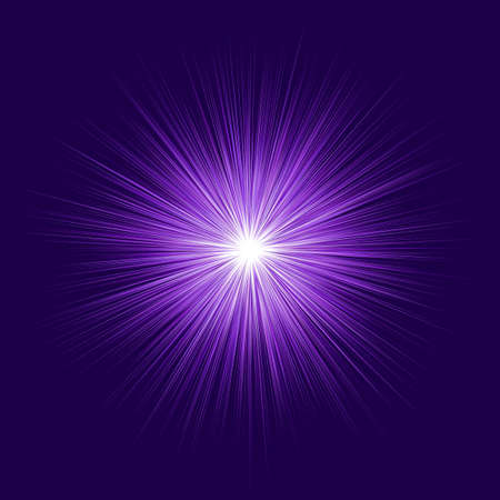 Abstract purple blast design on dark background