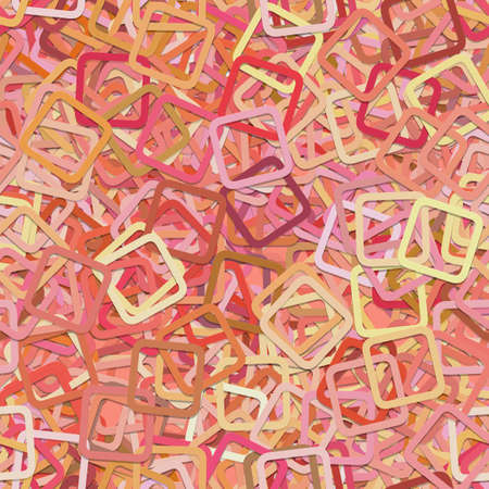 Seamless random rounded square pattern background