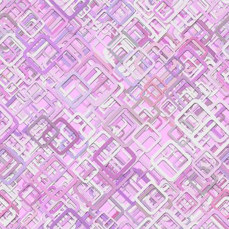 Seamless diagonal square pattern background