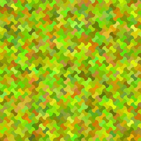 Colorful curved shape mosaic background