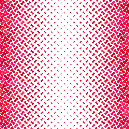 Red abstract geometric shape pattern background
