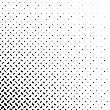 Abstract monochrome diagonal ellipse pattern Illustration