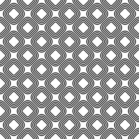 repetitive: Diagonal rounded line square pattern background
