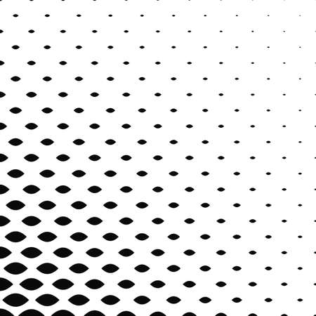 Monochrome curved shape pattern background