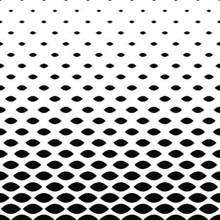 repetitive: Monochrome curved shape pattern background
