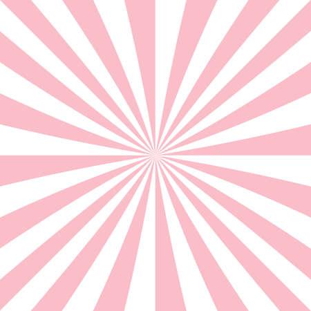 Abstract starburst background from radial stripes Illusztráció