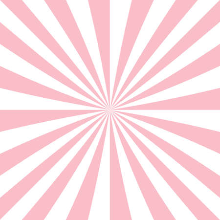 Abstract starburst background from radial stripes Illustration