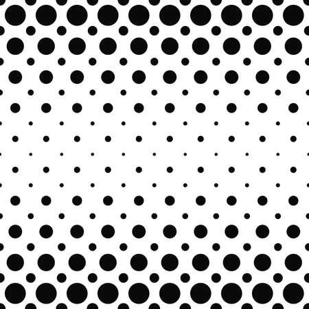 Black and white dot pattern design