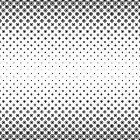 smooth background: Monochrome concentric circle pattern design