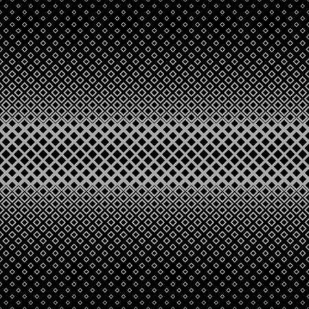 varying: Symmetrical abstract halftone square pattern background - vector graphic from squares in varying sizes