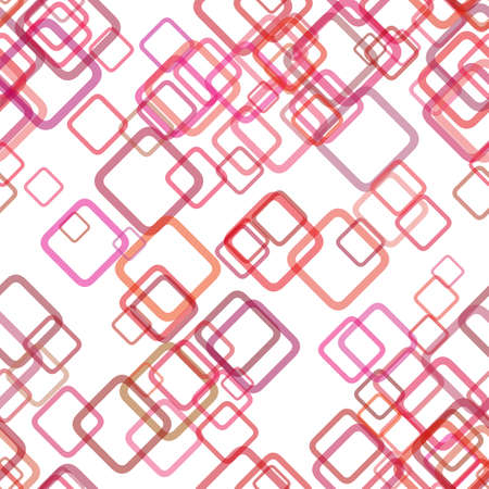 Seamless abstract geometric square background pattern - vector graphic design from diagonal squares with opacity effect