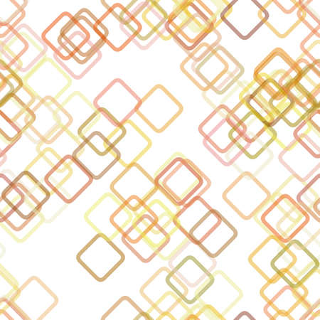 Seamless geometric square pattern background - vector design from diagonal squares with opacity effect