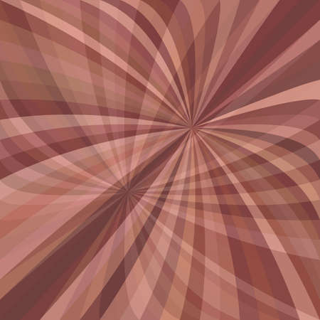 Curved ray burst background - vector graphic from striped rays