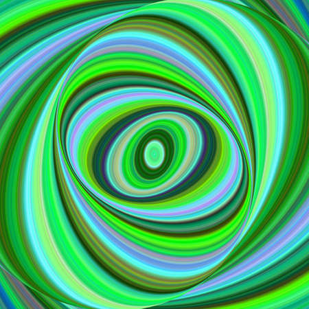 Multicolored ellipse fractal art background