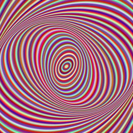 Colorful ellipse digital art background