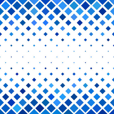 Colored abstract square pattern background - vector illustration from diagonal squares in blue tones