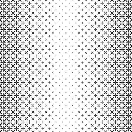 Monochrome star pattern - vector background graphic design