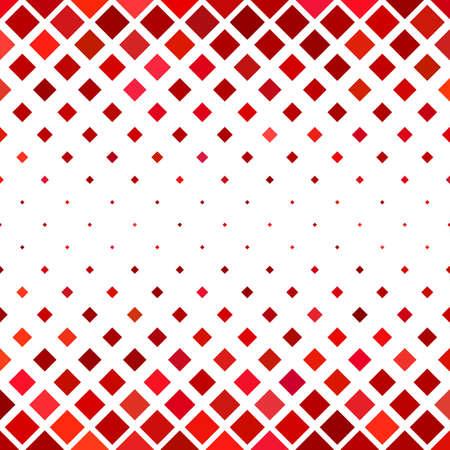 추상 사각형 패턴 배경 - 붉은 색조의 사각형에서 기하학적 벡터 디자인