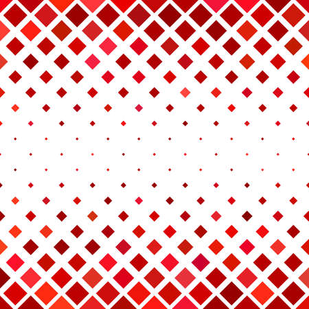 Abstract square pattern background - geometrical vector design from squares in red tones