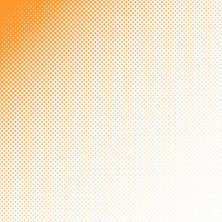 Geometrical halftone circle pattern background - vector graphic Illustration