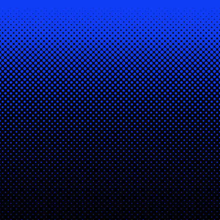 varying: Geometric halftone dot pattern background - vector design from circles